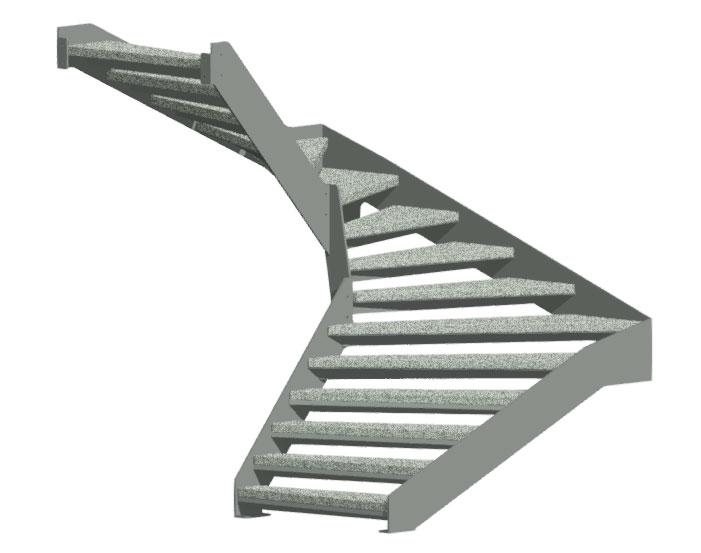 Stairman-metalltrepid-Põsktrepp
