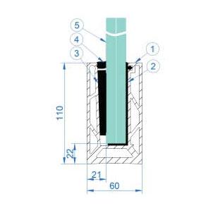 Stairman-piirded-süsteemi-komponendid